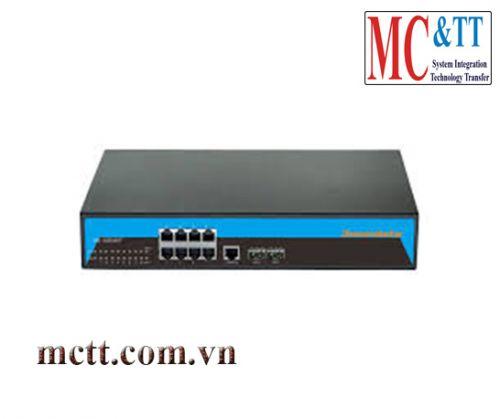Switch quản lý 8 cổng Gigabit PoE Ethernet + 2 cổng SFP 3Onedata ES5010G-2GS-8POE-P(220VAC)