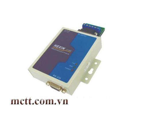 Bộ chuyển đổi RS-232 sang RS-485/RS-422 5km Hexin HXSP-2108C