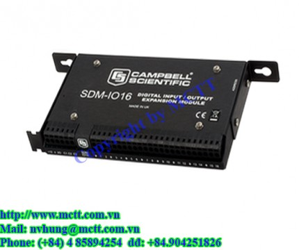 Module 16 kênh vào/ra Campbell Scientific SDM-IO16