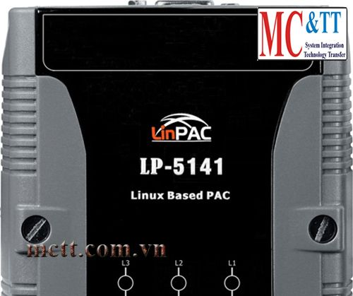 PAC with Linux kernel 2.6.19 and two LAN ports ICP DAS LP-5141