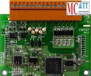 Board 1 cổng RS-422/485 với 5 kênh đầu vào số và 5 kênh đầu ra số ICP DAS XW507