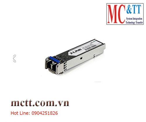 Module quang sfp công nghiệp 1.25G dual fiber 20Km LC Z-link Z-GSFP-13-20LDI