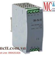 Bộ đổi nguồn 220VAC/24VDC 3.2A công suất 75W Winston DR-75-24