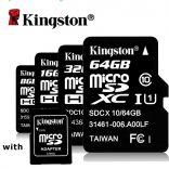 Thẻ nhớ Micro Kingston 32GB Class 10 80MB