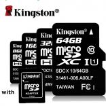 Thẻ Nhớ Kingston Micro SD 64GB Class 10