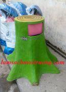 Thùng rác hình gốc cây chùm