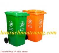 Thùng rác nhựa TR 240 L nắp kín