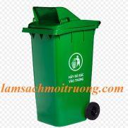 Thùng rác nhựa TR 240 L nắp hở