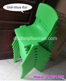 Ghế nhựa đúc chân chữ A PAR01