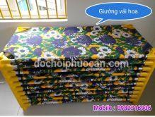 Giường vải hoa PAR03