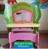 Bộ bàn ghế vi tính mầm non Kidsmart PA3115
