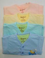 Áo màu nỉ  tay dài Cotton2 lớp BB66