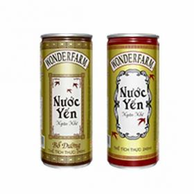 WONDERFARM Bird's nest white fungus drink