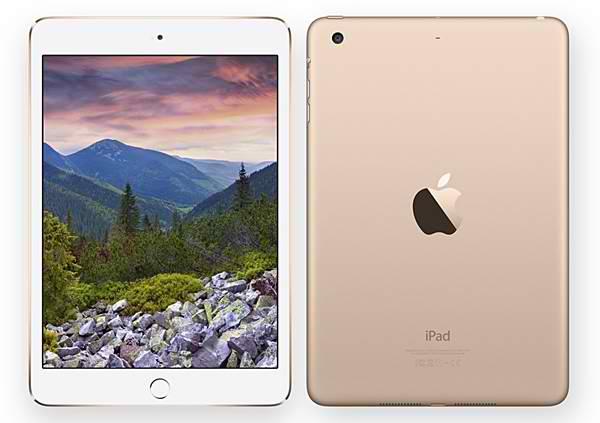 iPad Mini 3 Vàng Quốc tế 128GB