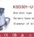 Rơle nhiệt KSD301-U-G