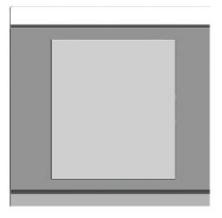 Mặt che vuông đơn ArtDNA E9-24