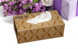 Soft Life sản xuất hộp khăn giấy lụa cao cấp
