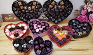 Địa chỉ bán buôn socola Valentine khắc chữ đẹp nhất | Maika Chocolate
