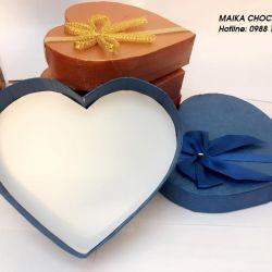 Vỏ hộp đựng socola hình tim