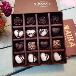 Hộp quà socola Valentine đẹp mắt