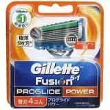 Lưỡi dao cạo Gillette Fusion vỉ 4c