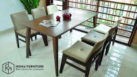 Bộ bàn ăn 6 ghế giá rẻ tại Nghĩa Furniture | mang đến vẻ đẹp hiện đại cho ngôi nhà của bạn