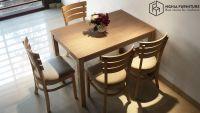Cách chọn bàn ghế ăn gỗ tự nhiên rẻ đẹp Hà Nội | NGHĨA FURNITURE