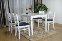 Mẫu bàn ghế gỗ phòng khách giá rẻ |Bộ Mostar W2-4 | Uy tín tại Hà Nội
