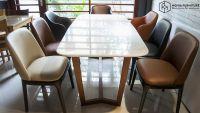 Mẫu bàn ghế gỗ phòng khách đẹp | hiện đại tại Hà Nội | Bộ bàn ăn cocorde - ghế grace