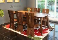 Bàn ghế ăn óc chó CW290-WL xuất khẩu