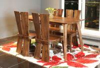 Bàn ghế ăn óc chó CW290-WS