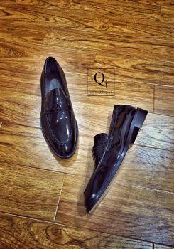 Giày da CRAZIM Lười Bóng