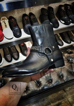 Boot nam E8813-2 Đen