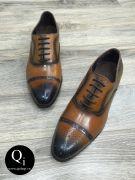 Giày da CRAZIM E9044-1 nâu
