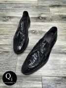 Giày da CRAZIM 52260C đen