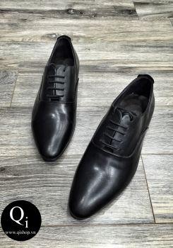 Giày CRAZIM K668 Đen Trơn