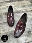 Giày da CRAZIM E9040-B12 đỏ vang