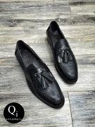 Giày da CRAZIM X003 Đen