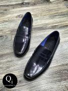 Giày da CRAZIM E709-2 xanh