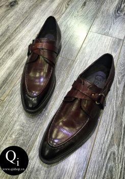 Giày da CRAZIM DH621-008 nâu