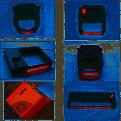 Ruy băng máy chấm công bằng thẻ giấy