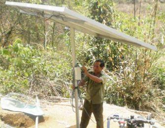 Mô hình tưới tự động bằng năng lượng mặt trời ở Ninh Thuận