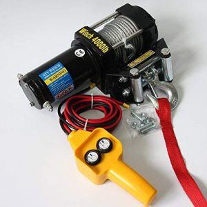 Tời điện kéo xe ATV 6000LBS -12V