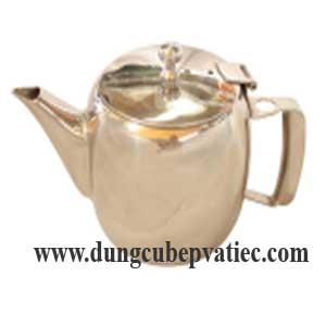 Ấm trà mạ vàng
