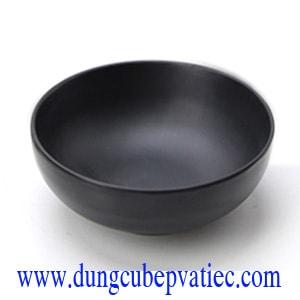 Chén melamine đen