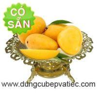Đĩa trưng bày hoa quả thực phẩm bầu dục 80138