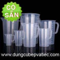 Ca đong định lượng bằng nhựa TC