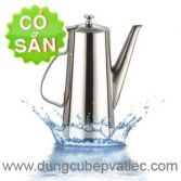 Ấm inox pha trà cà phê 1.5L - 2L