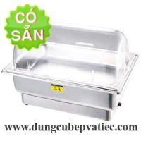 Lò cách thủy khay buffet chữ nhật nắp mika mở 1/2 9 lít CFK7055P1