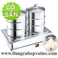 Lò hấp dim sum để bàn buffet 3 tầng RWK7056